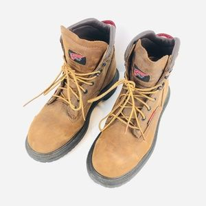 Red Wing Leather Steel Toe Work Boot 7.5